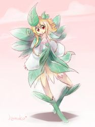Doodle - Nature Fairy by jamuko
