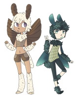 Moth Adopts (Closed) by PyrosLupus