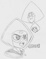 Peridots by CrowDeCorvidae