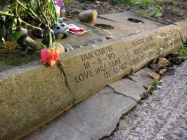Another Ian Curtis memorial.. by cel-l