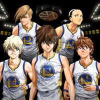 Commission: Gundam Wing Golden State Warriors