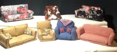 Sofas and chairs by BegetBaubbles
