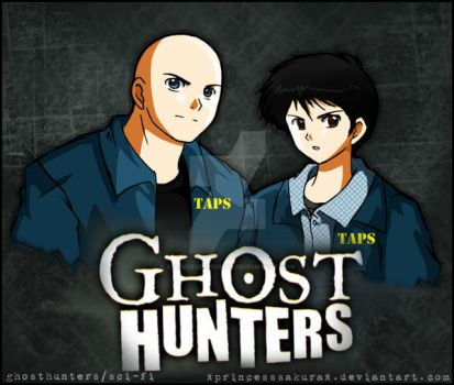 Ghost Hunters : TAPS by xPrincessSakurax