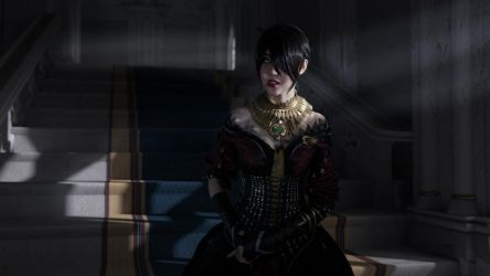 Wicked Eyes and Wicked Hearts: Morrigan Cosplay by brother-caleb
