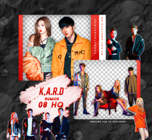 K.A.R.D PNG PACK #3 (RUMOR) by Upwishcolorssx