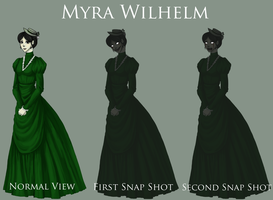 Myra Wilhelm by SUCHanARTIST13
