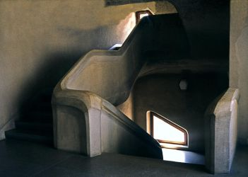 Staircase In Goetheanum 3 by Woscha