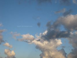 Painting in the sky no.2 by Tegori