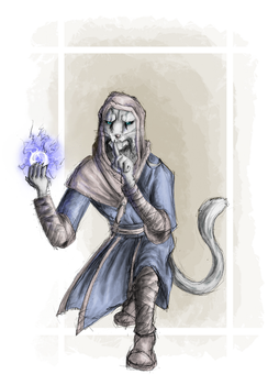 J'zargo the Mage by Moon-Side