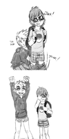 Ask Jack and Hiccup Pantsing Comic by Somewaywardson