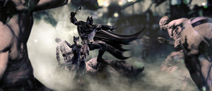 Batman Arkham Returns - Badass Couple by FearEffectInferno