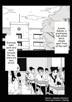 KHS Chap.1 page 1 - English by Onihikage