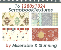 Scrapbook Texture Pack 2 by awfullybad