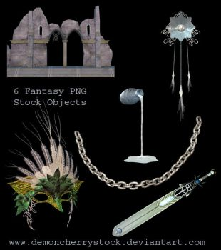 Fantasy png stock by DemoncherryStock