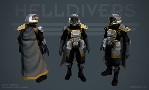 Helldivers - Support Armor by OskarKuijken