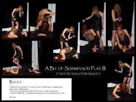 A bit of submission play III by Mithgariel-stock