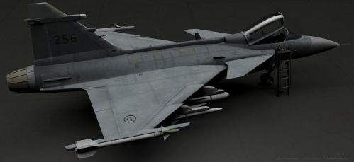 Jas_Gripen_RENDER 2 by rOEN911