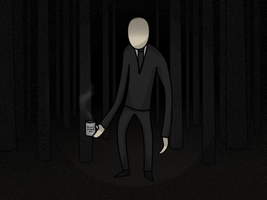 Slender Man (20$ for a fancy creamer!) by Mamamia64