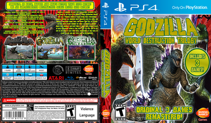Godzilla World Destruction Trilogy by JapaneseGodzilla1954