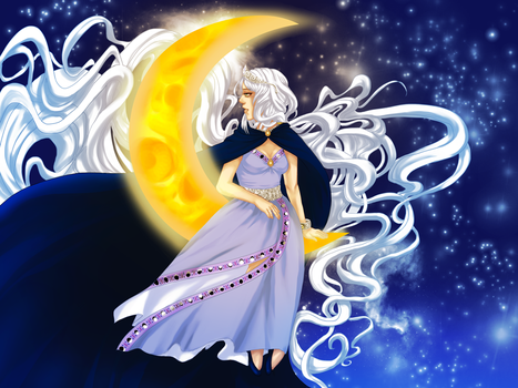 PCM: Moon Godess by LzzleFzzle