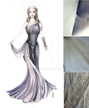 Daenerys Gown Design by Reine-Haru