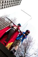 Gurren Lagann:Handle and Sword by Ai-rika