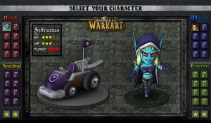 World of Warkart 02: Sylvanas by OmegaClarens