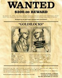 WANTED - Goldilocks by captnklaus