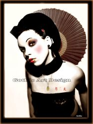 Geisha by ArefinPrints