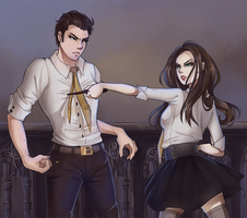 Theo and Alice by hollowCho
