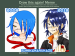 Draw this again! 2008 - 2018 Agito by fumikaharukaze