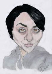 caricature of myself by bullet-in-my-mouth