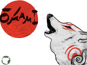 2012 Okami redraw by Toffee-Gaming