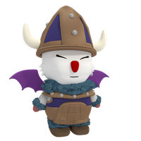 Moogle Viking by SiverCat