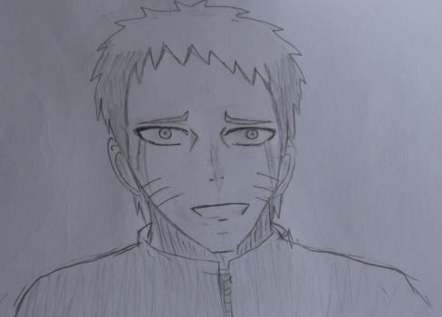Naruto -Crying Happy tears by Fran48