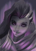 Sombra sketch by arxers