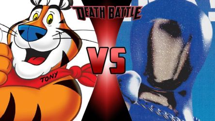 Tony the Tiger vs. Pepsiman by OmnicidalClown1992