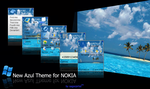 New Azul Theme for Nokia by sagorpirbd