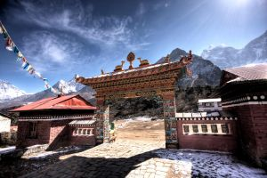Himalayan temple by godintraining