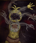 Nightmare Toy Chica by TangledMangle
