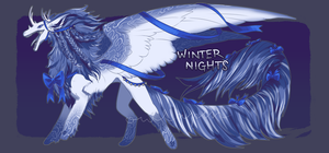 ~Winter Nights~ Adopt Auction (closed) by owlapin