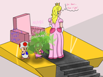 Request: Something stinks in the mushroom kingdom by Feather-Ashes