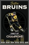 Boston Bruins Composition/Poster by StevieRWilliams
