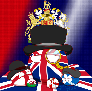 The UK with its Countries by ipodmini1
