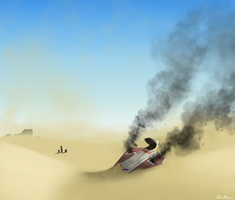 Back to Tatooine - SWTOR by Poticceli