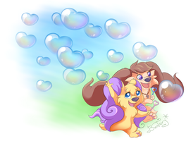 We LOVE Bubbles! by Bestary