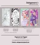 Commissions Infos 2017 by Salayanara