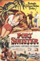 Port Sinister movie poster 1 bound and gagged by detectivesambaphile