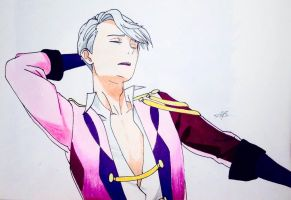 Victor Nikiforov  by MeowImAvery