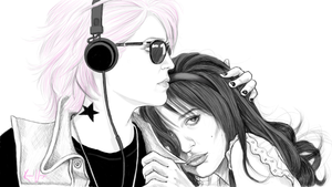 Faberry by miserable-dreamer